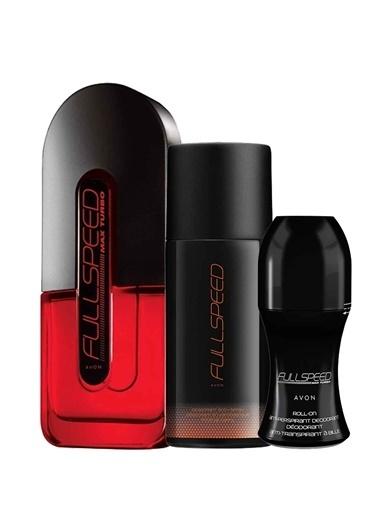 Avon Full Speed Turbo Max Üçlü Set Renksiz